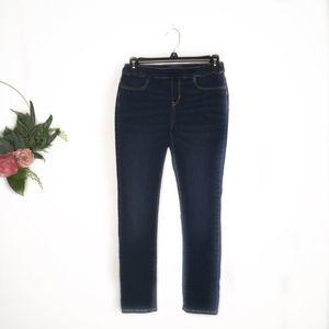 Old Navy dark wash skinny jeans XL 14